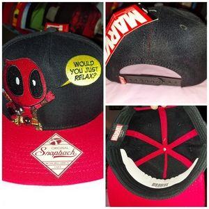 Marvel Deadpool snapback hat